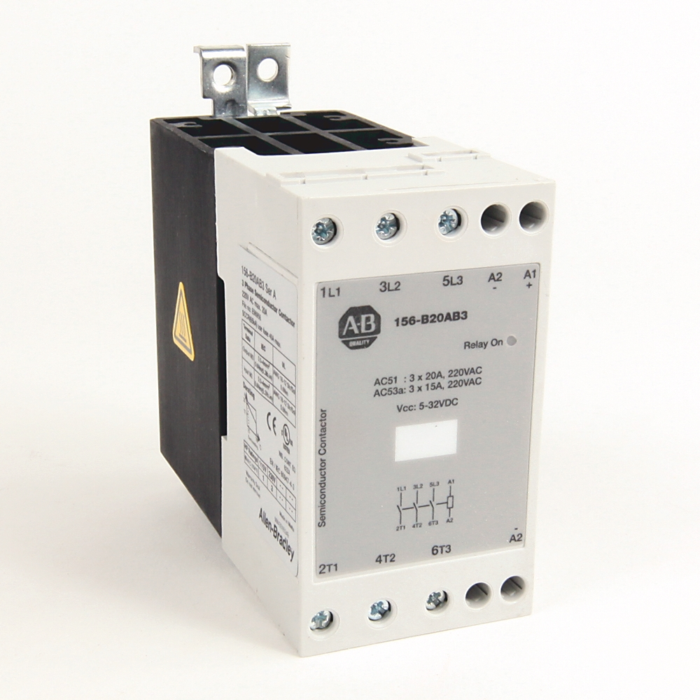 A-B 156-B20AB1 20 A Single Phase Solid State Contactor
