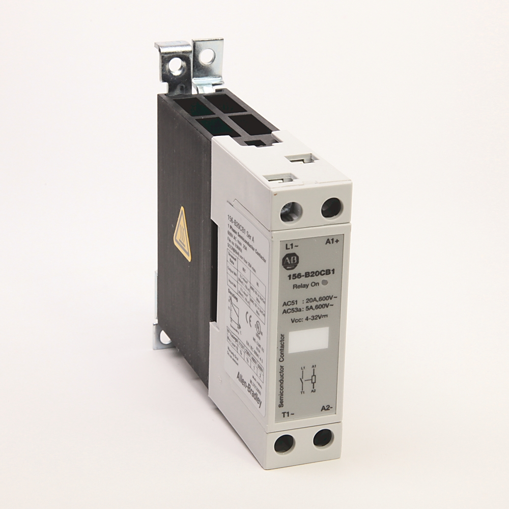 A-B 156-B20CB3 20 A Three-Phase Solid State Contactor
