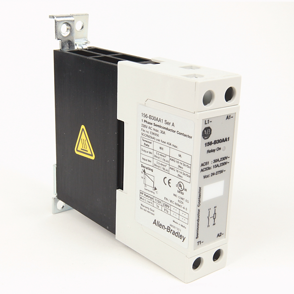 A-B 156-B30AB1 30 A Single Phase Solid State Contactor