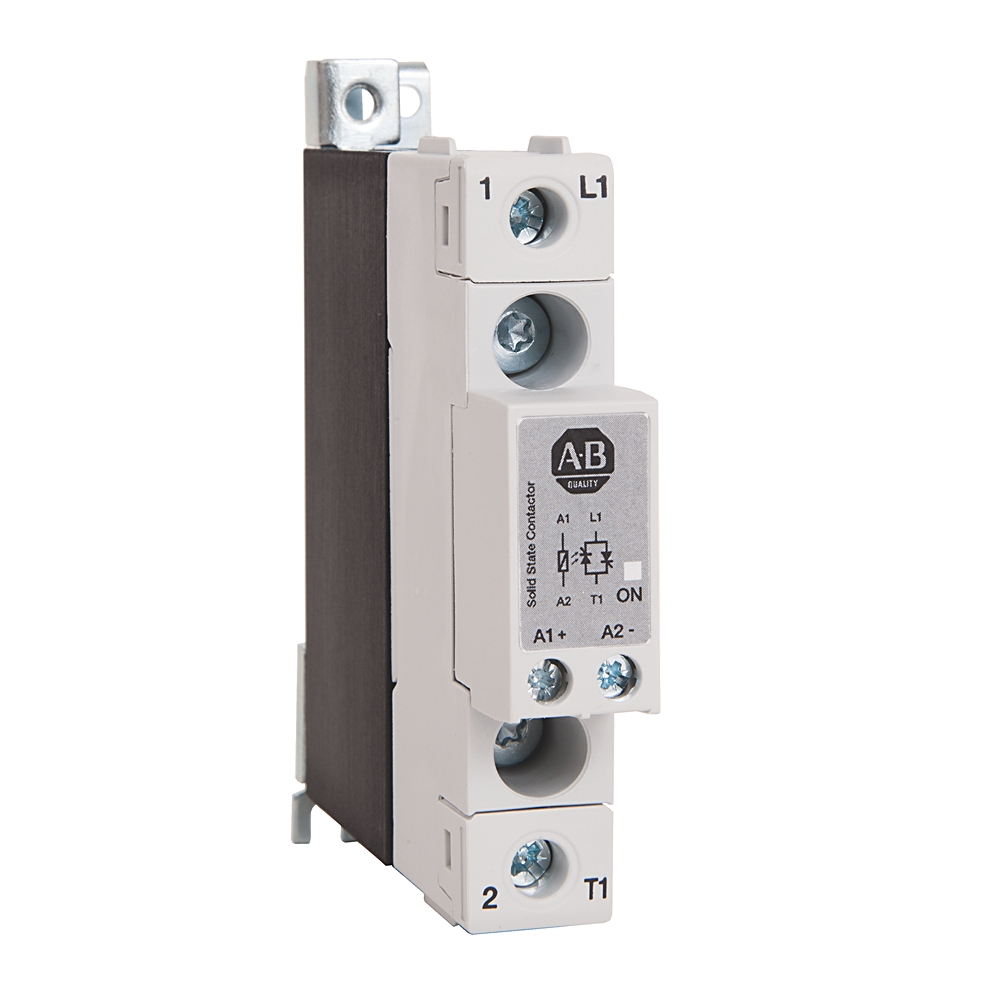 Rockwell Automation 156-C1P25NAB Single Phase Solid State Contactor 30 amps @ 40 C 240 volts AC maximumwith AC control 20 - 275 volts and DC control of 24 - 190 volts.