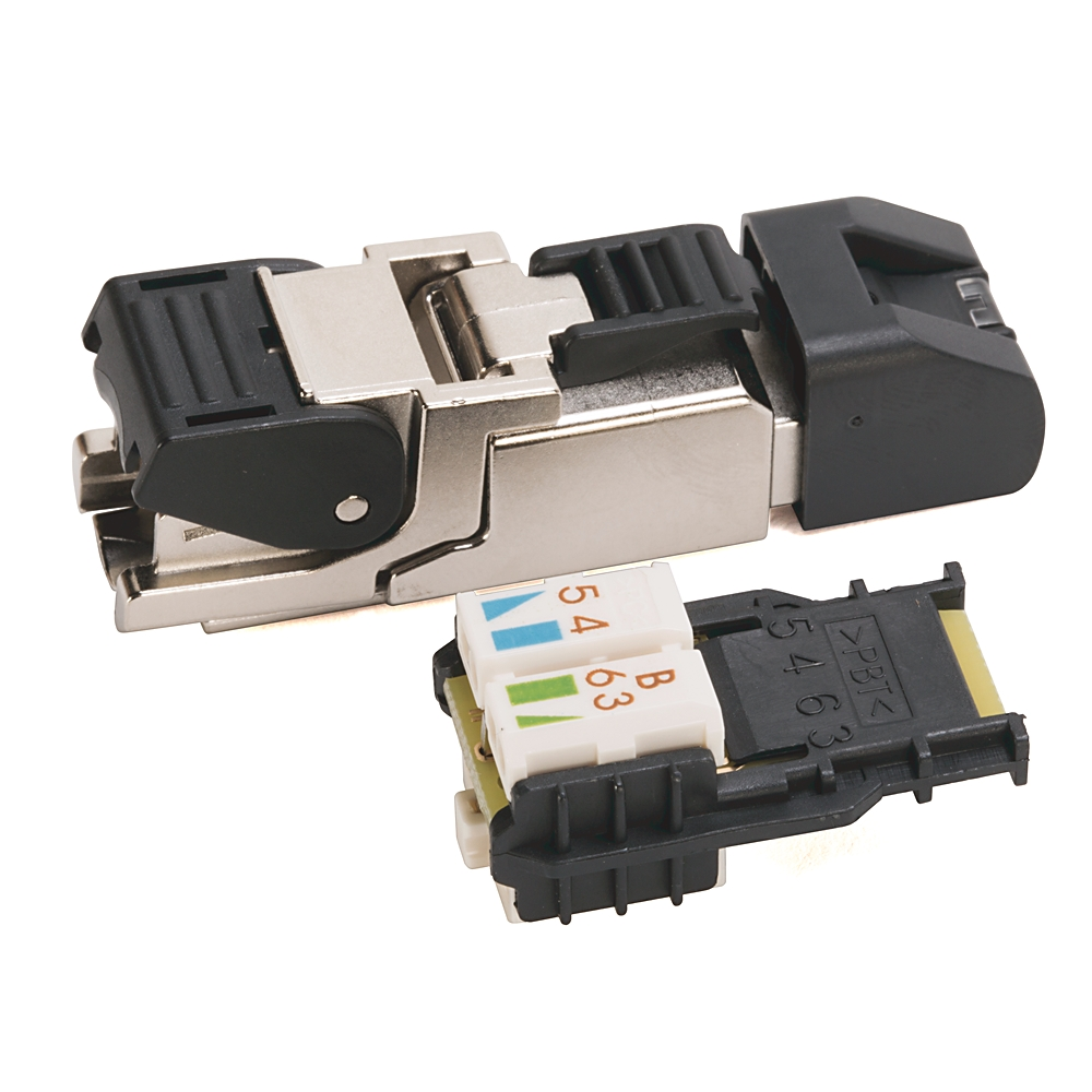 1585J-M8CC-H AB RJ45 FIELD ATTACHABLE IDC