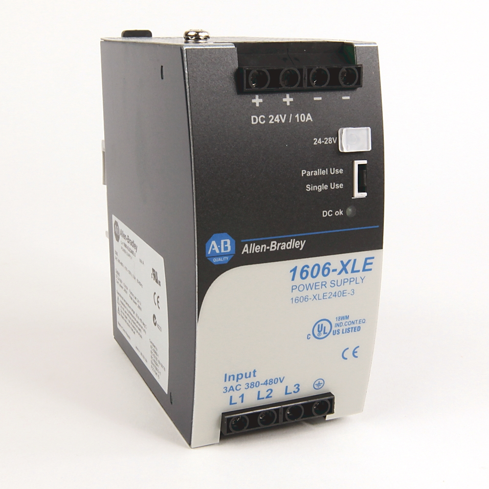 A-B 1606-XLE240E Power Supply XLE 240 W Power Supply