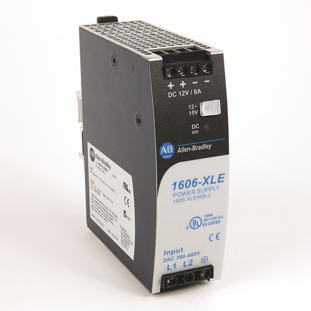 A-B 1606-XLE96B-2 480VAC Input 12VDC Out 8A Power Supply