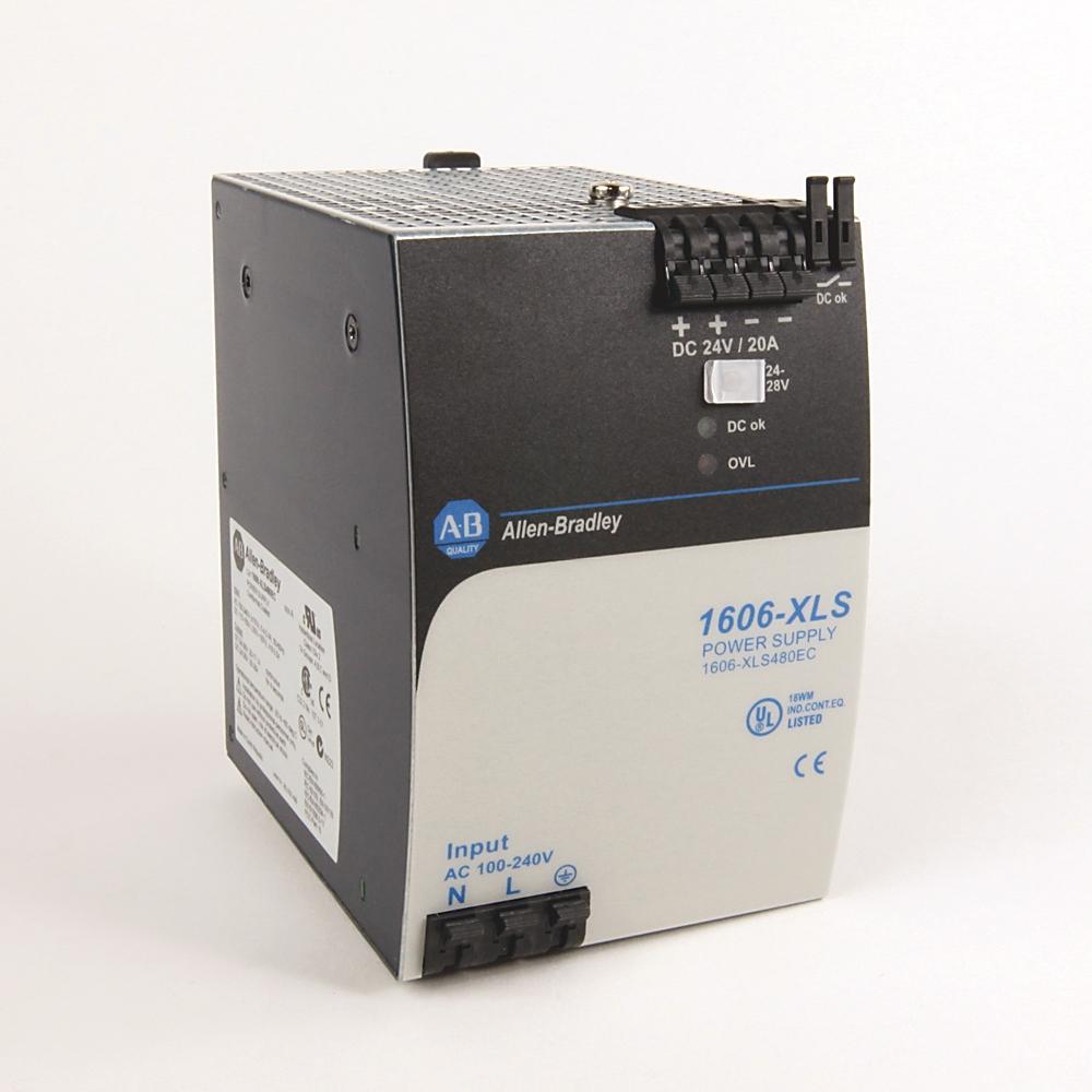 1606-XLS480EC AB 24-28V DC 480 WATT POWER SUPPLY 61259871325