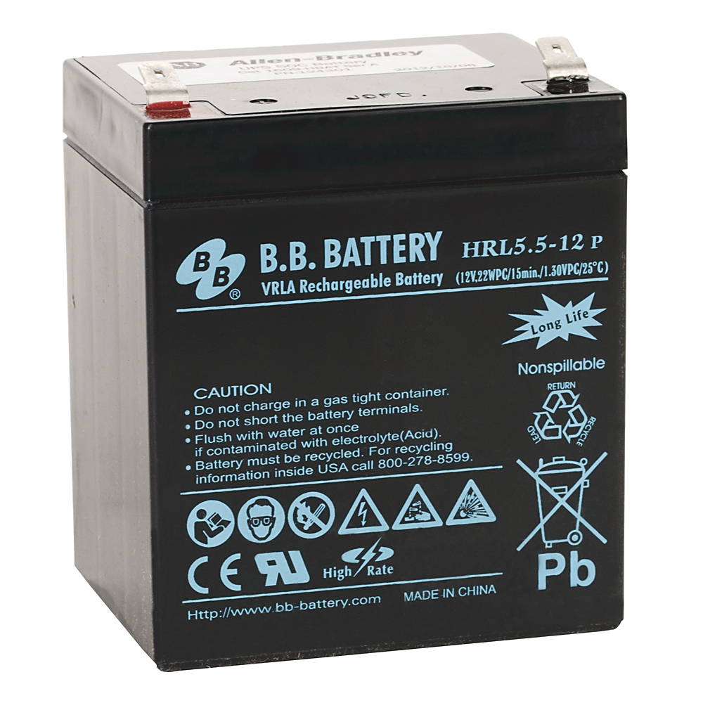 A-B 1609-HBAT Bul 1609 UPS High Temp 12VDC Battery