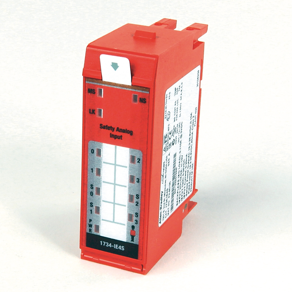 A-B 1734-IE4S Point IO Safety Analog Input Module
