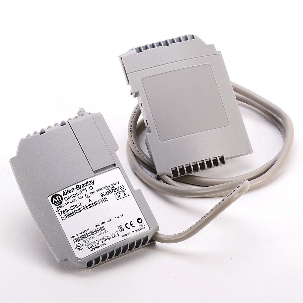 1769-CRL3 AB COMPACT I/O 1M EXP CBL RIGHT TO LEFT