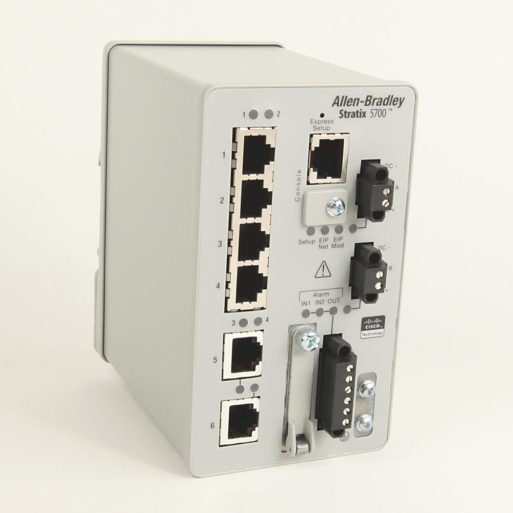 A-B 1783-BMS06TA Stratix 5700 6 port managed Switch