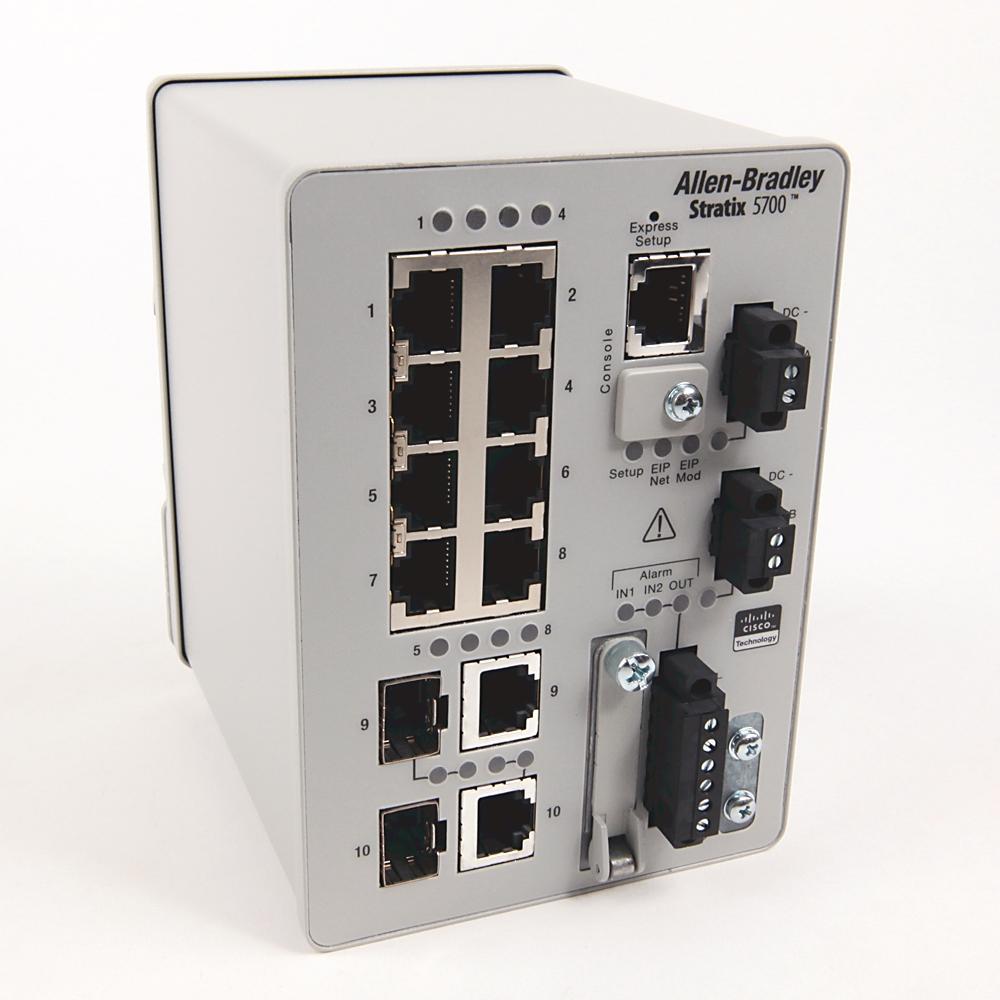 A-B 1783-BMS10CL Stratix 5700 10 port managed Switch