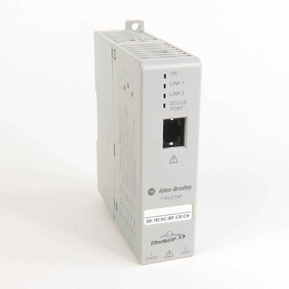 A-B 1783-ETAP1F 3-PORT ENET/IP TAP - 2 TP/1 FIBER