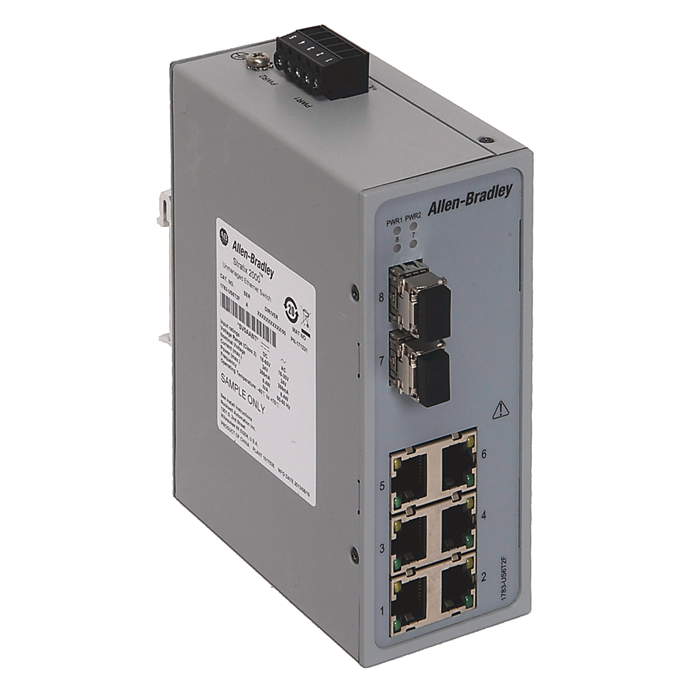 A-B 1783-US5T Stratix 2000 5 port unmanaged Switch   OneSource