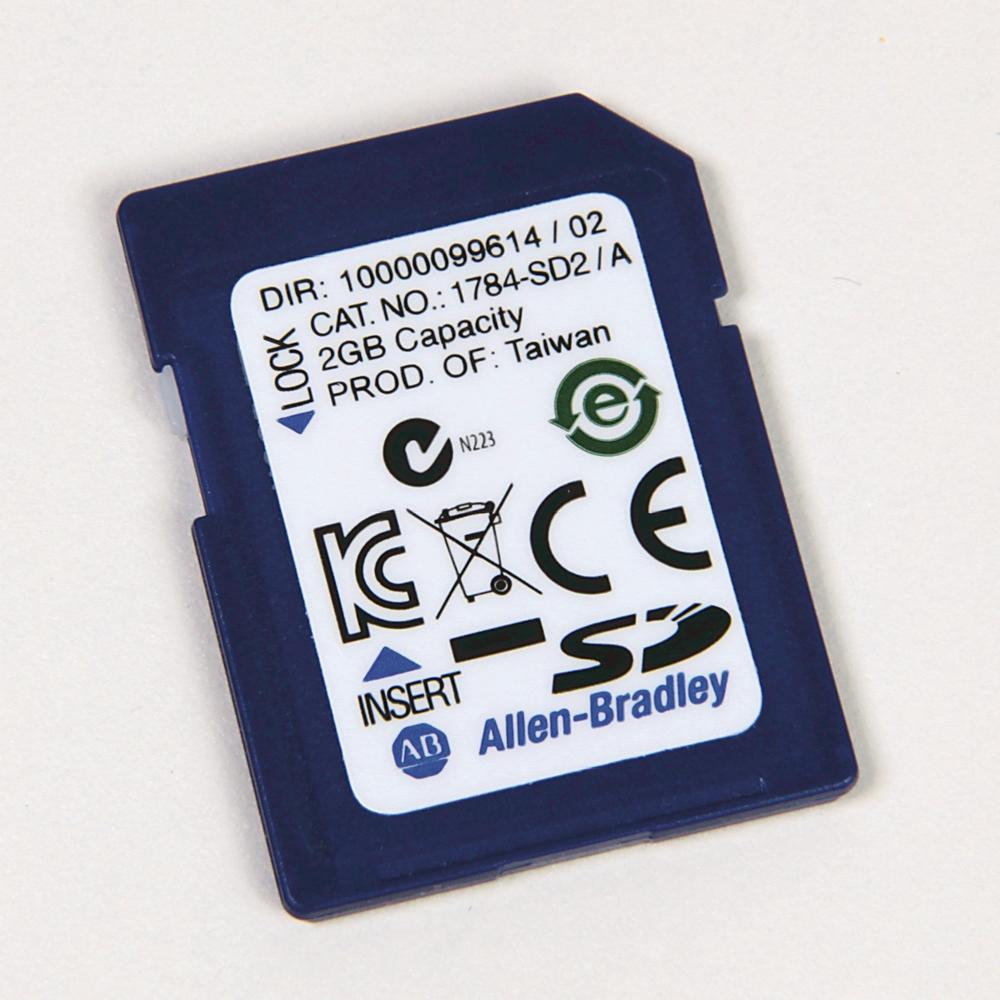 A-B 1784-SD2 ControlLogix Secure Digital Card