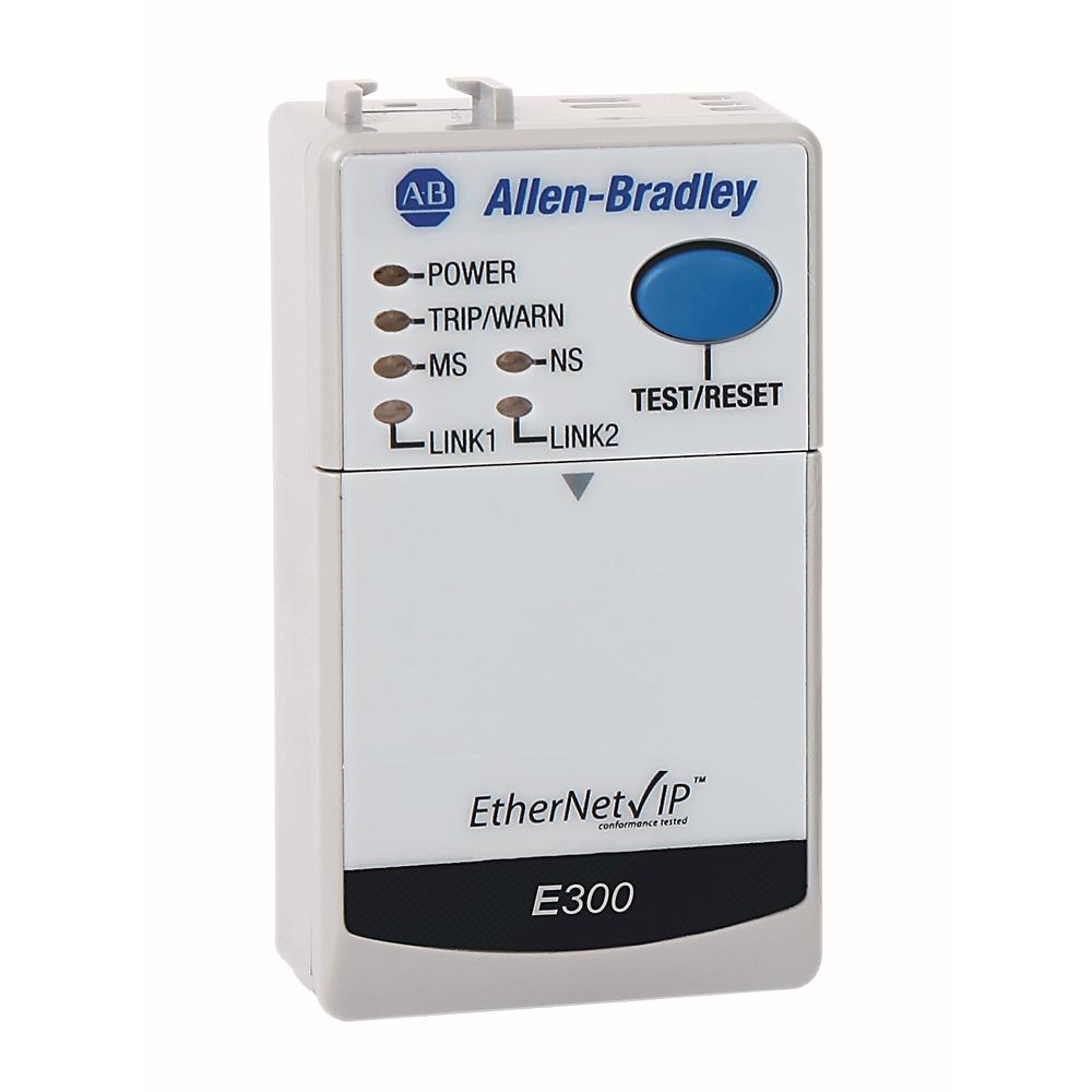193-ECM-ETR AB E300 ETHERNET/IP COMMUNICATION MODULE 88563052544