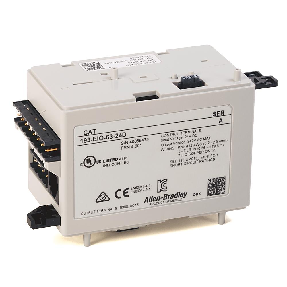 193-EIO-63-24D AB E300/E200 24V DC CONTROL MODULE 88563073996