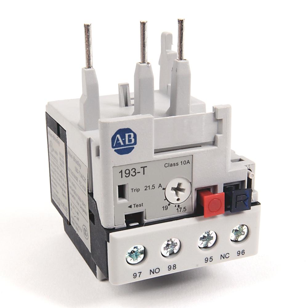 A-B 193-T1AC21 17.5-21.5 A IEC Bimetallic Ovld Relay