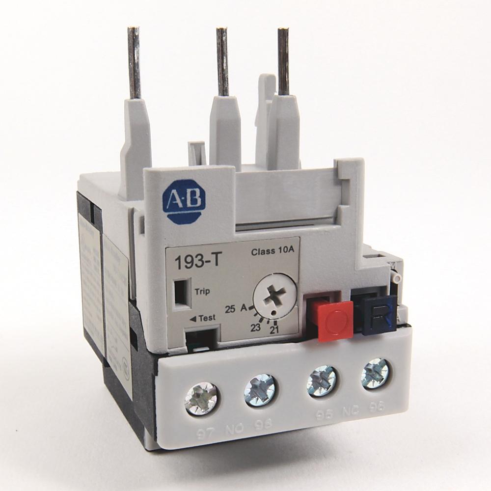 A-B 193-T1AC25 21-25 A IEC Bimetallic OverLoad Relay