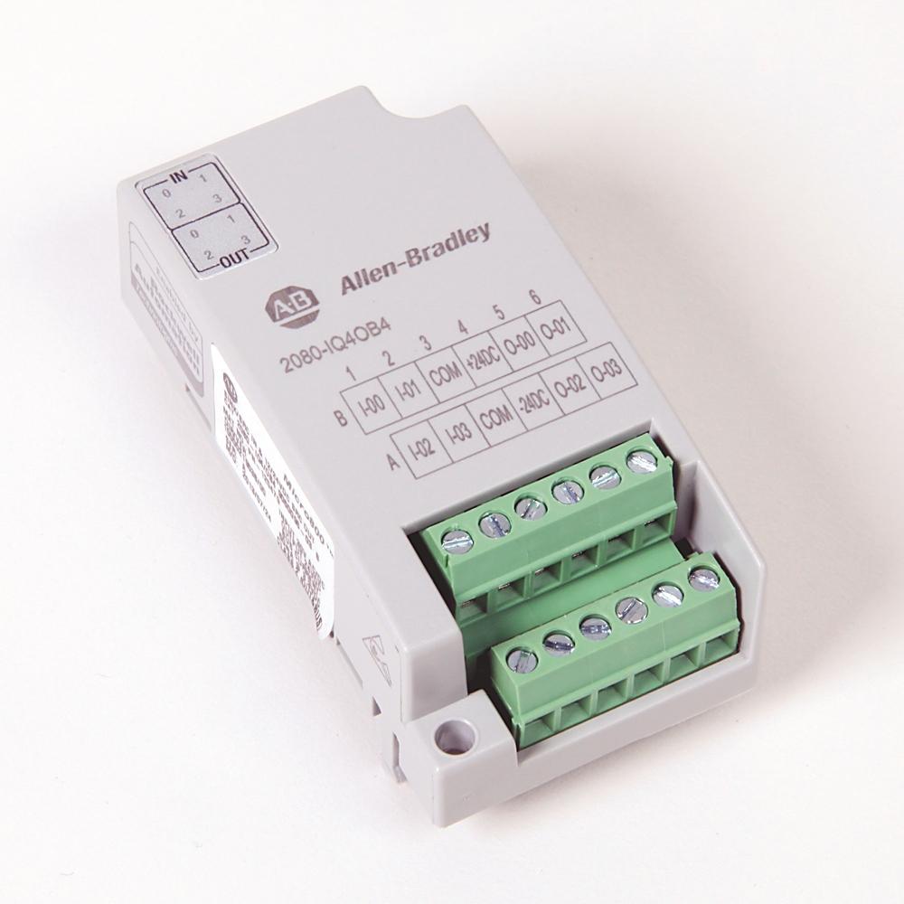 A-B 2080-IQ4OB4 Micro800 8 Point Digital Combo (Source)