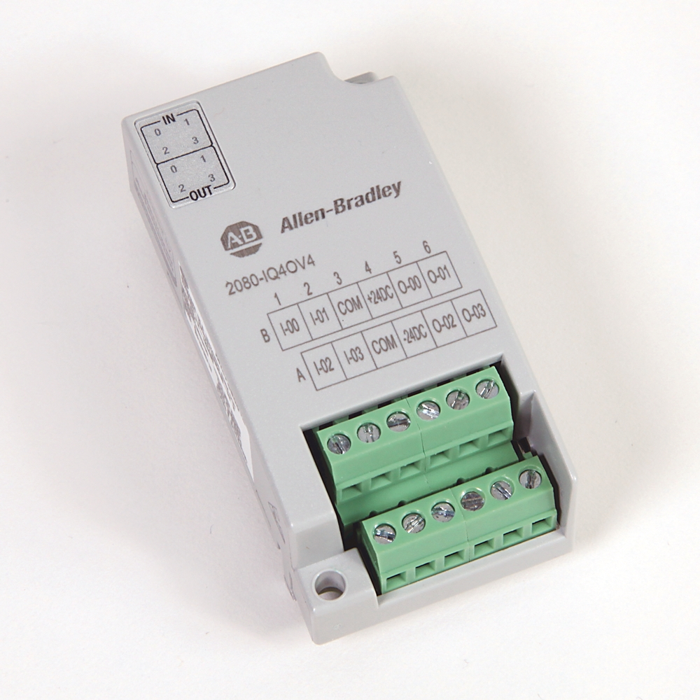 2080-IQ4OV4 AB MICRO800 8 POINT DIGITAL COMBO (SINK) 88563023494