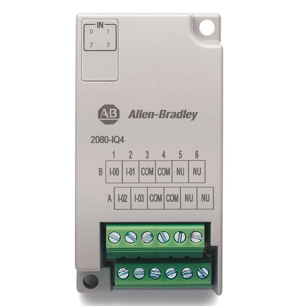 A-B 2080-IQ4 Micro800 4 Point IEC Digital Input   OneSource Distributors