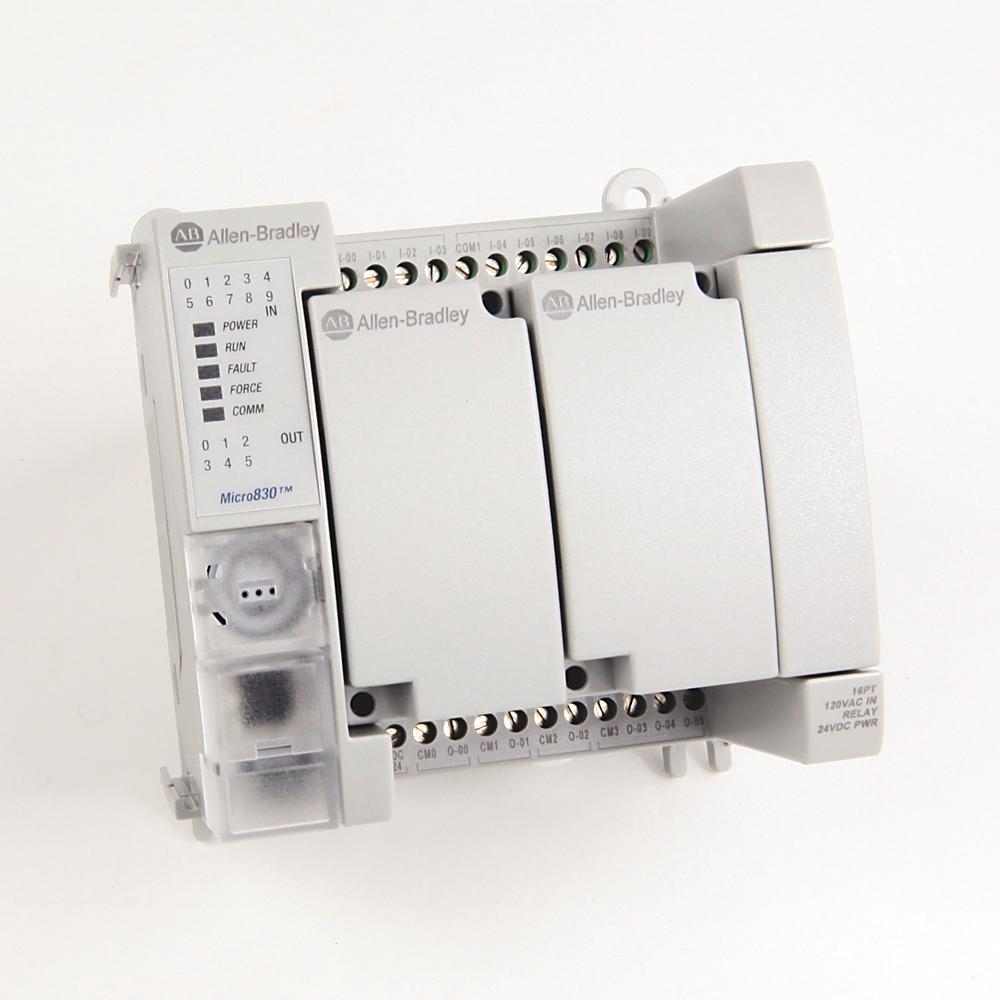 2080-LC30-16AWB AB MICRO830 16 I/O CONTROLLER 88563005818