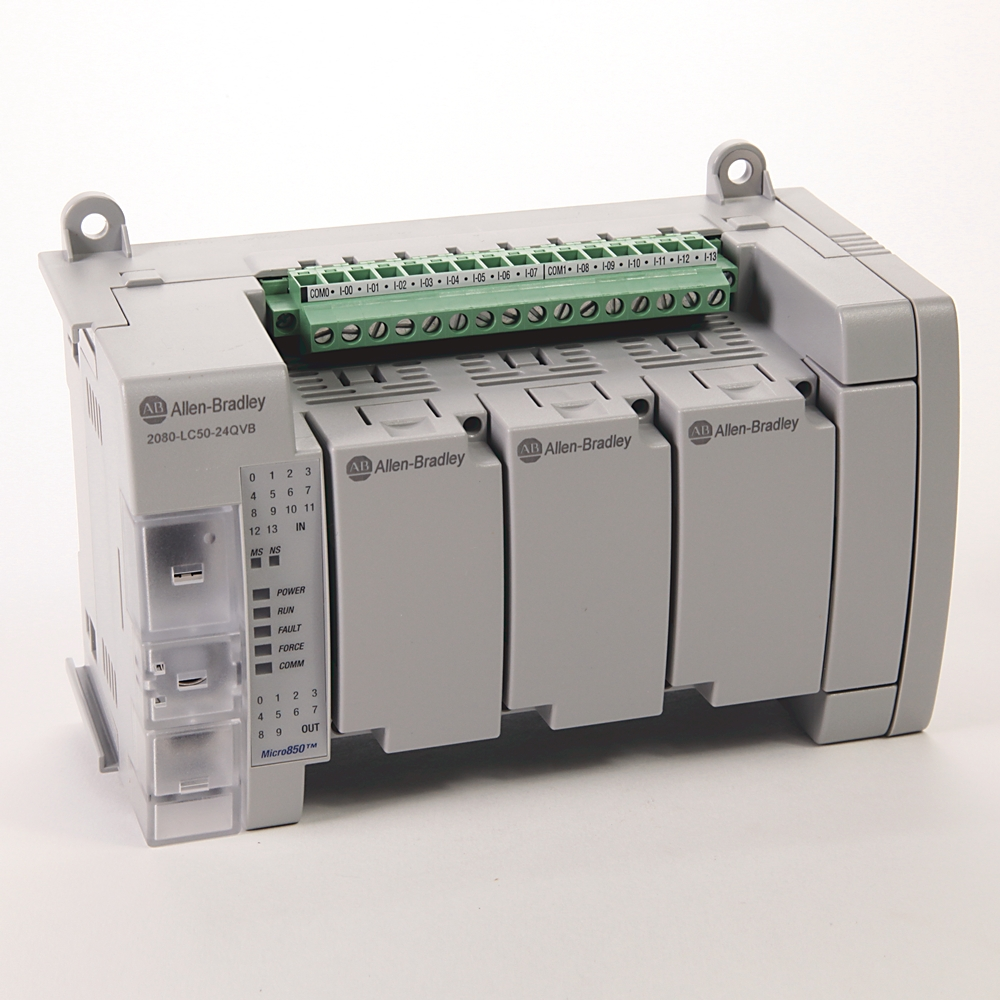 ROCKWELL AUTOMATION 2080-LC50-24QVB MICRO850 24 I/O ETHERNET/IP
