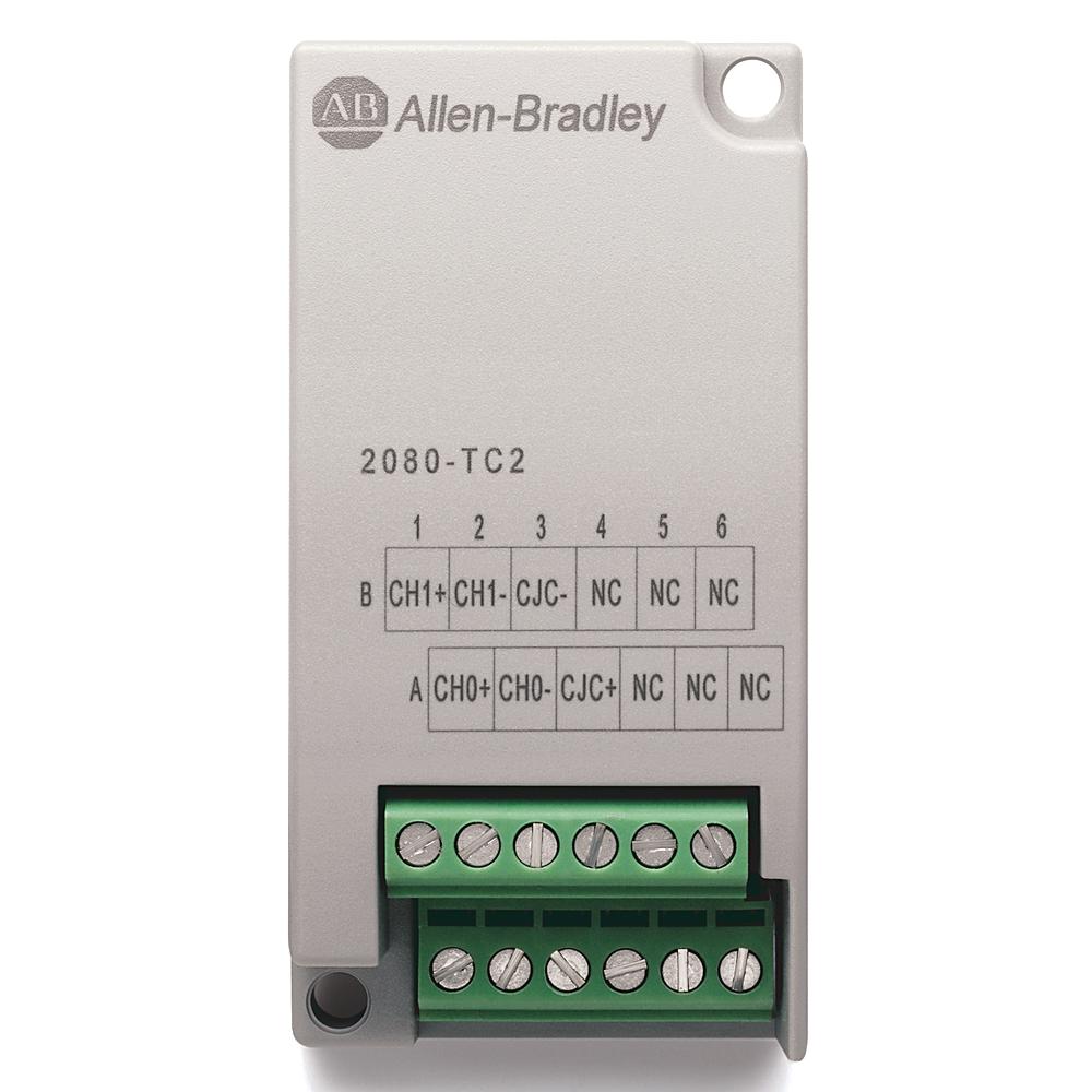 A-B 2080-TC2 MICRO800 2 CHANNEL TC PLUG-IN