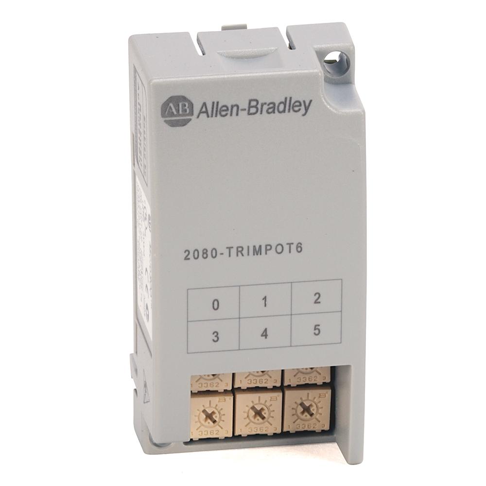 A-B 2080-TRIMPOT6 MICRO800 6 POINT TRIM POT PLUG-IN