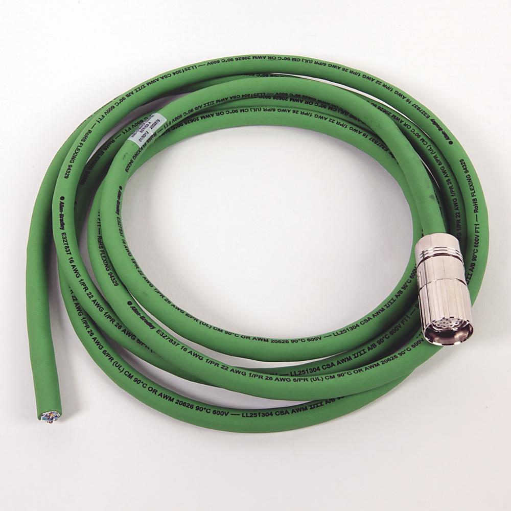 A-B 2090-CFBM4DF-CDAF03 MP-Series 3m Feedback Cable