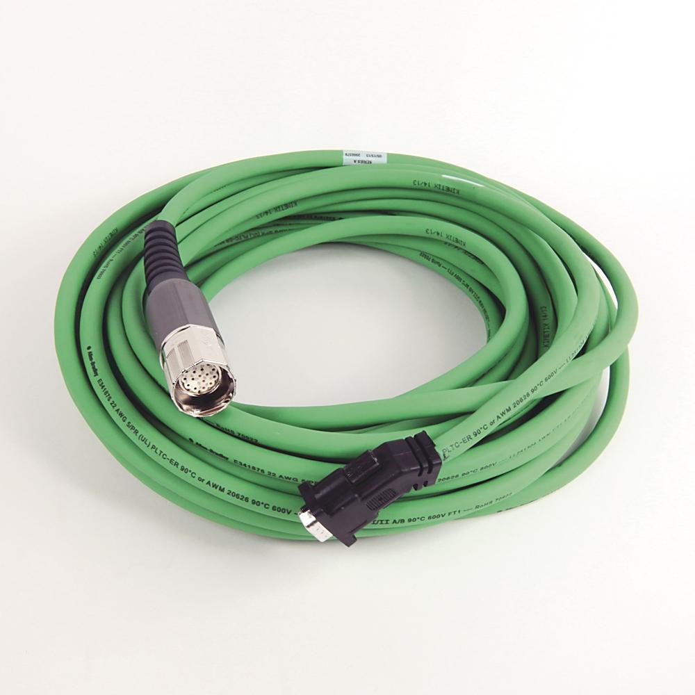 A-B 2090-CFBM7DD-CEAA15 MP-Series 15m Servo Feedback Cable
