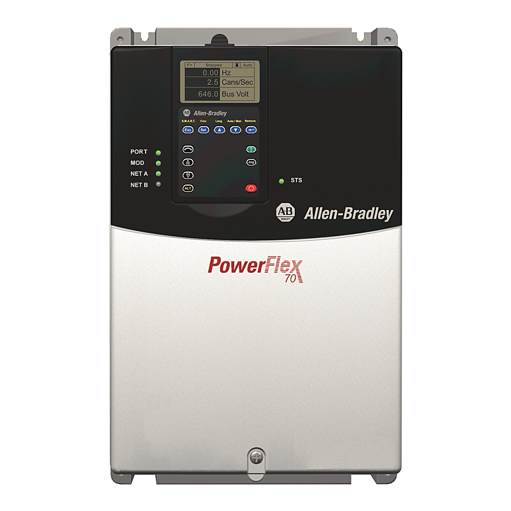 A-B 20AD040F3AYNANC0 PowerFlex 70 AC Drive 40 A at 30 Hp 20A
