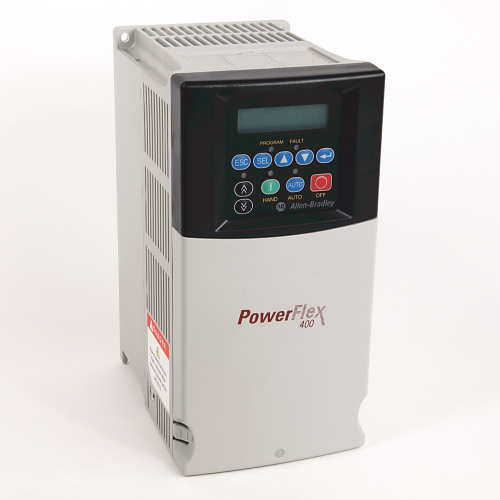 22C-D460A103 AB POWERFLEX 400, FAN AND PUMP DRIVE. 480VAC, 3PH. 460 AMP.