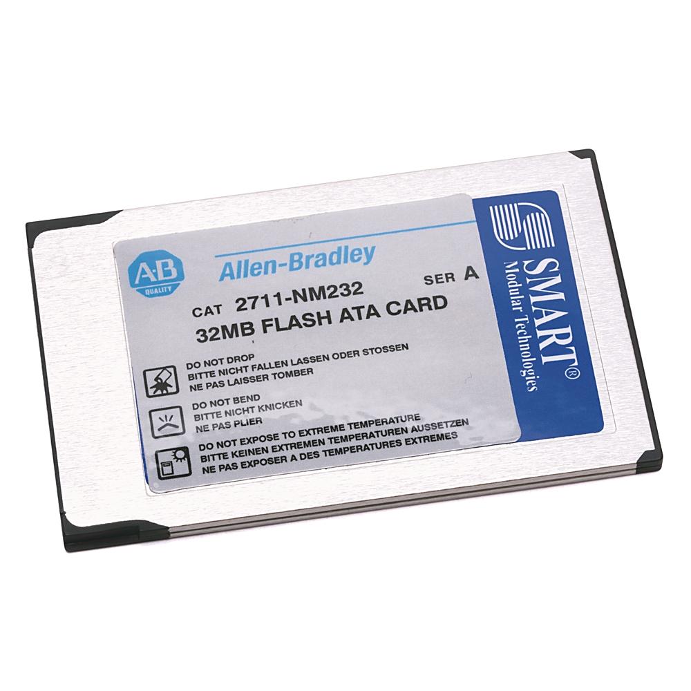 2711-NM232 AB 32MB FLASH ATA MEMORY CARD 61132085932