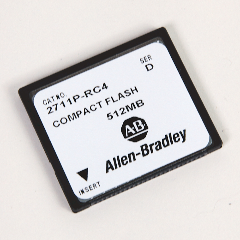 A-B 2711P-RC3 PanelView Plus 256MB Ext Memory Card