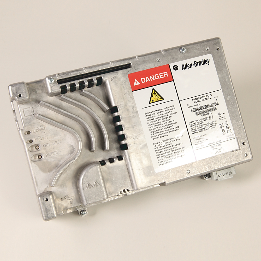 2711P-RP8A AB LOGIC MODULE FOR PVPLUS 6, 700-1500, AC, 512MB FLASH, 512MB RAM