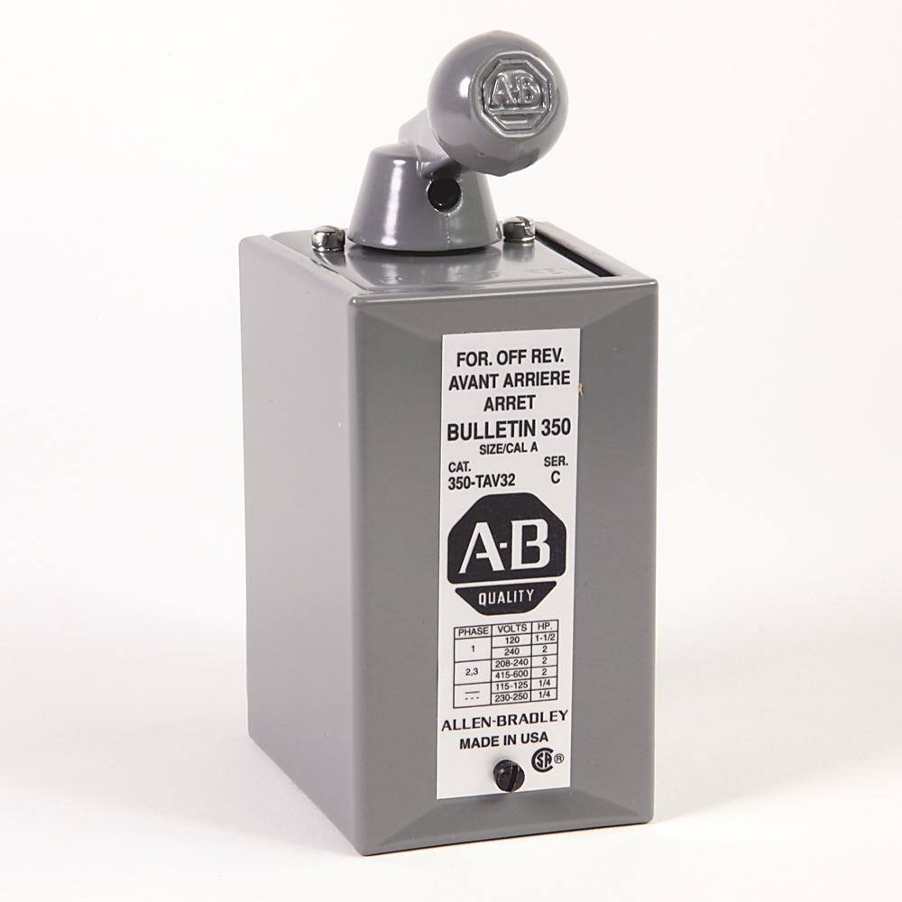 Rockwell Automation Revere Electric Bulletin 500 Nema Top Wiring Contactors For Motor Loads Allen Bradley 350 Tav32 Reversing Drum Switch