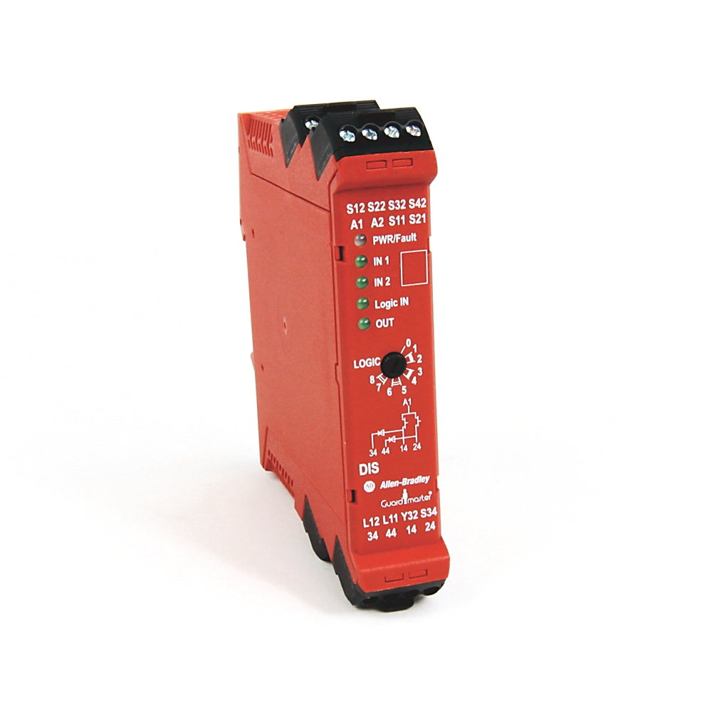 A-B 440R-D22S2 Guardmaster Dual Input SS Safety Relay