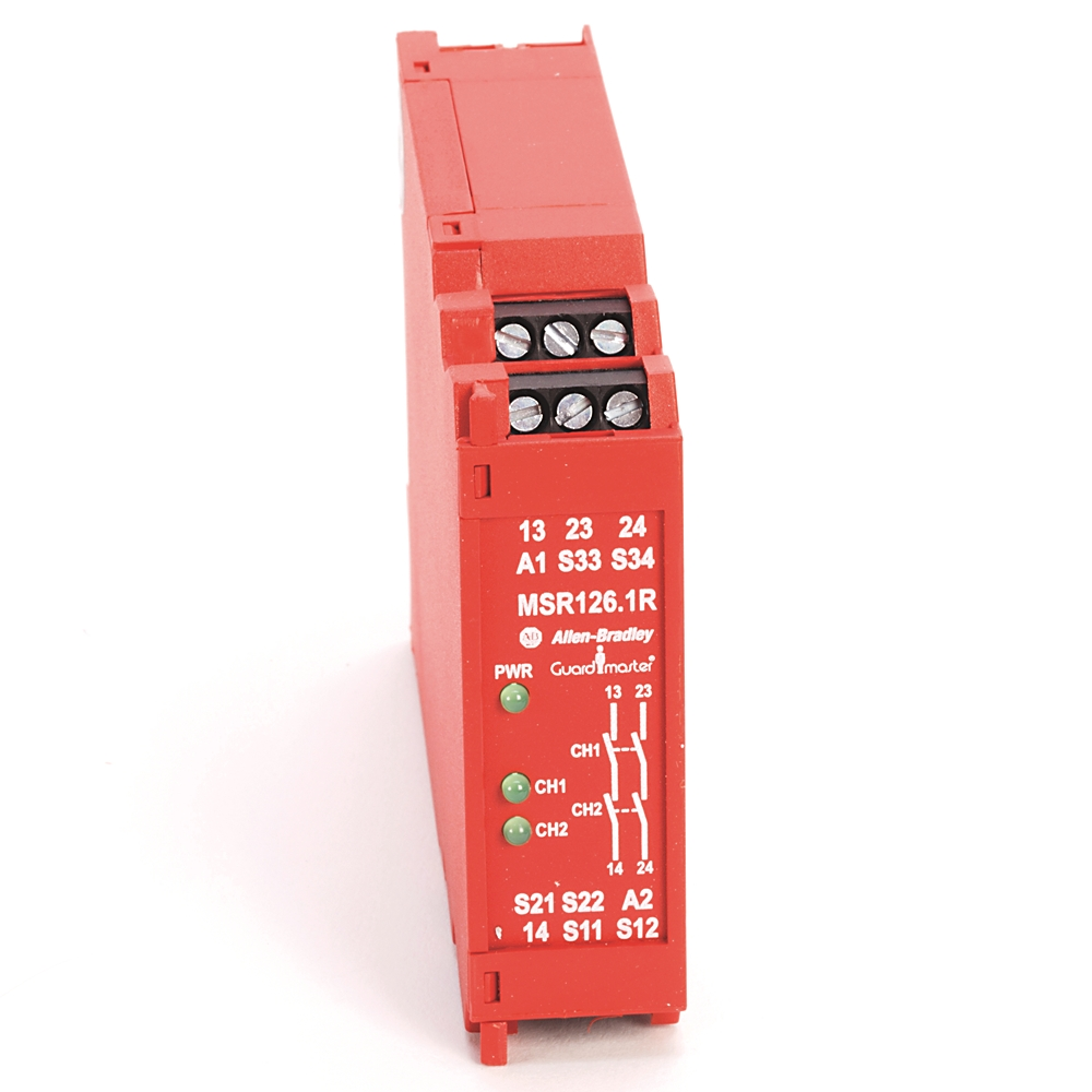 A-B 440R-N23114 Guardmaster MSR126.1T Safety Relay