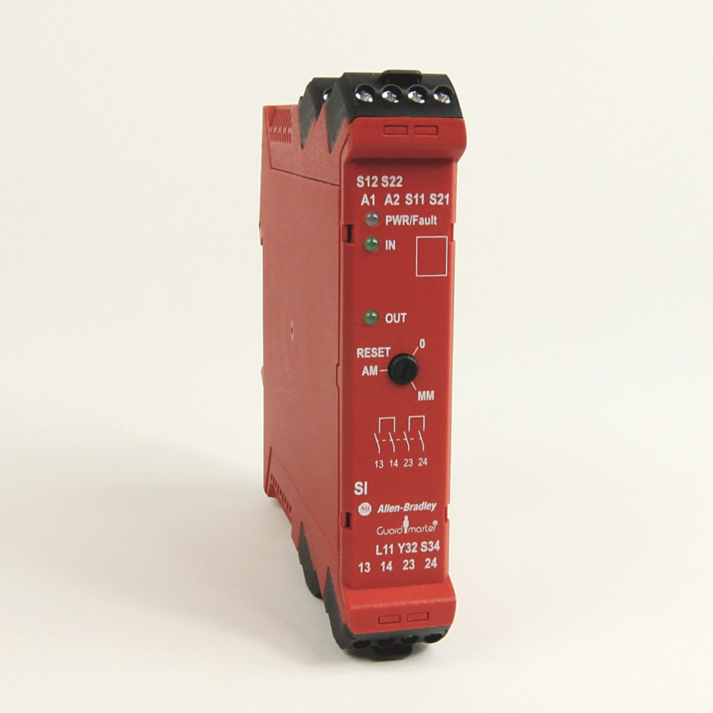 A-B 440R-S12R2 Guardmaster Single Input Safety Relay