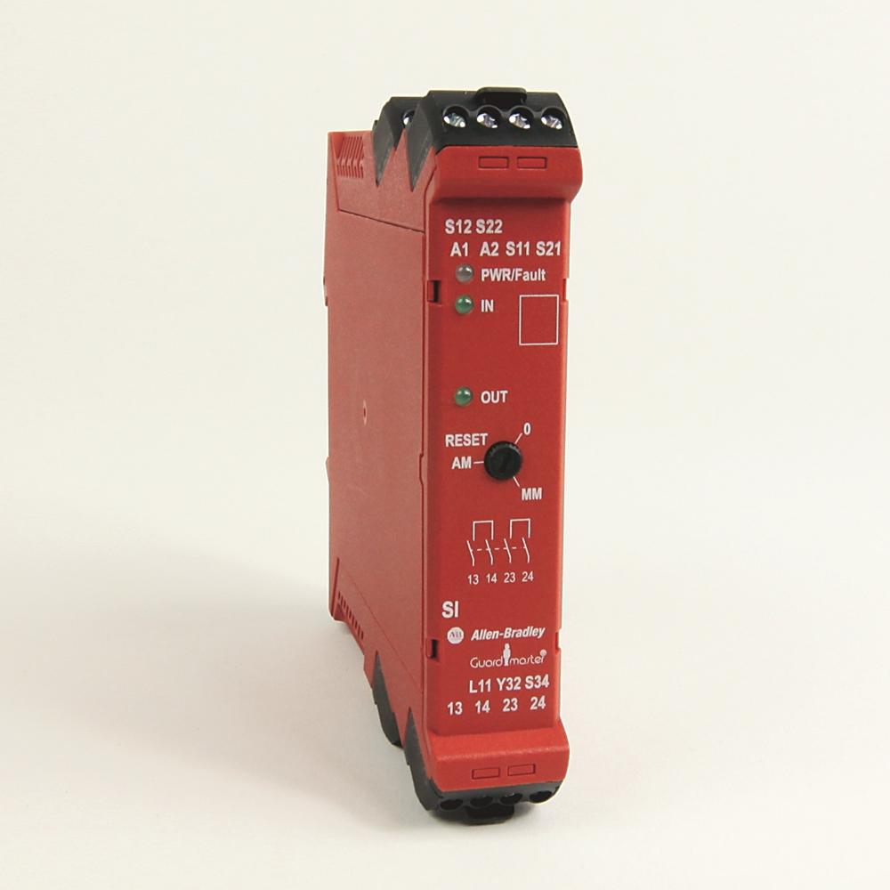 Rockwell Automation Revere Electric Powerflex 400 Wiring Diagram Allen Bradley 440r S12r2 Guardmaster Single Input Safety Relay