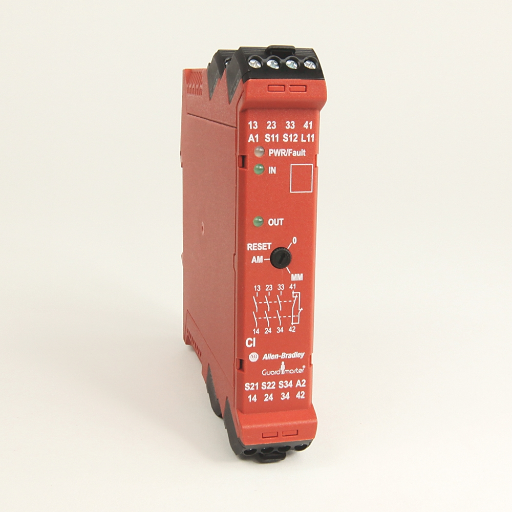 A-B 440R-S13R2 Guardmaster Single Input Safety Relay