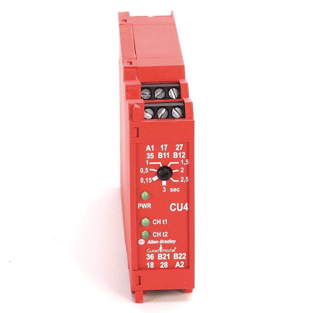 A-B 440R-S23175 Guardmaster CU4 Safety Relay