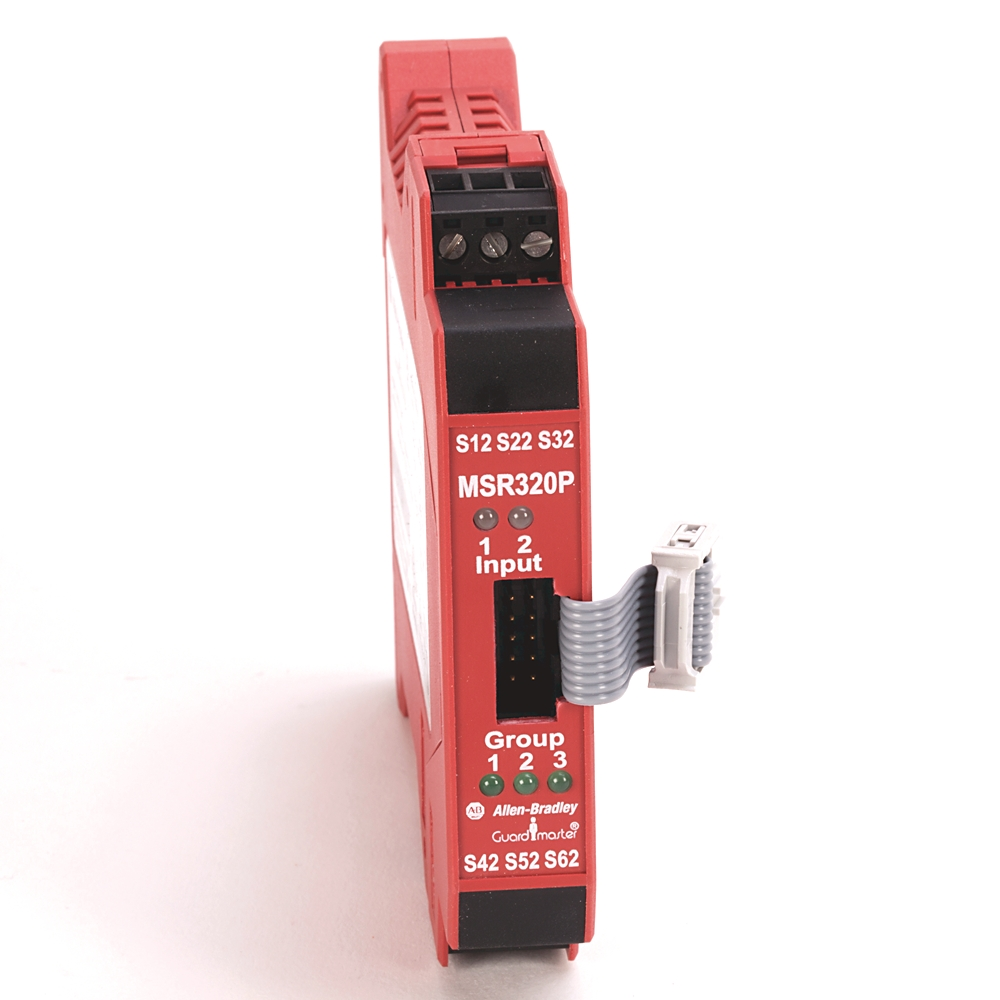 A-B 440R-W23218 Guardmaster MSR320P Safety Relay