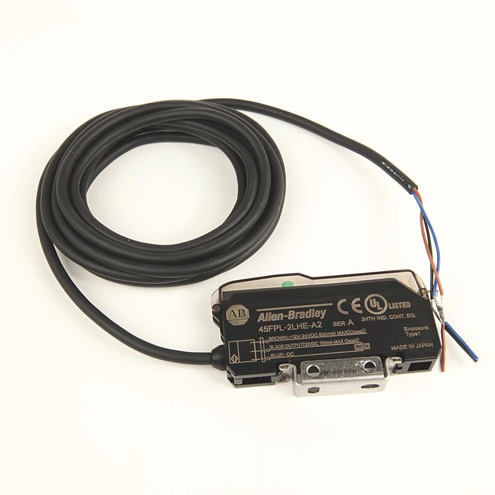 A-B 45FPL-2LHE-A2 45FPL Fiber Optic Photoelectric Sensor