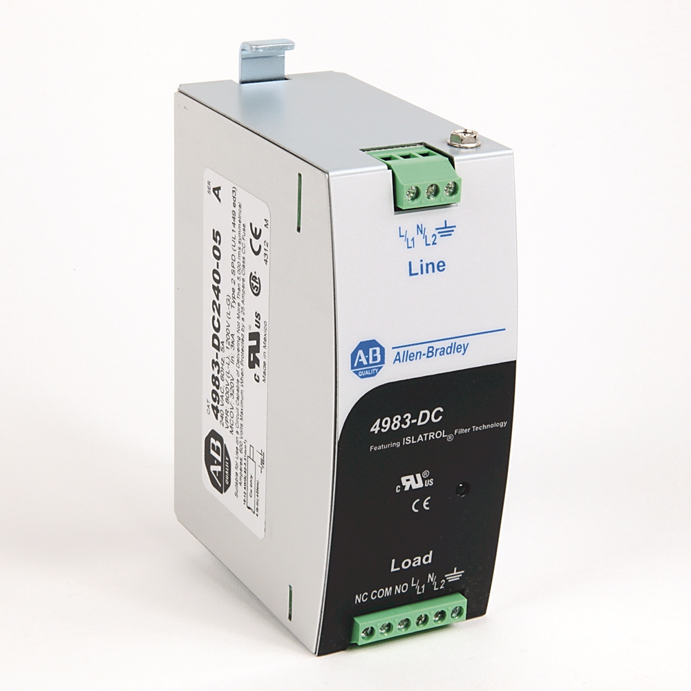 A-B 4983-DC240-05 5 A 240 V AC Filter - Surge Suppressor