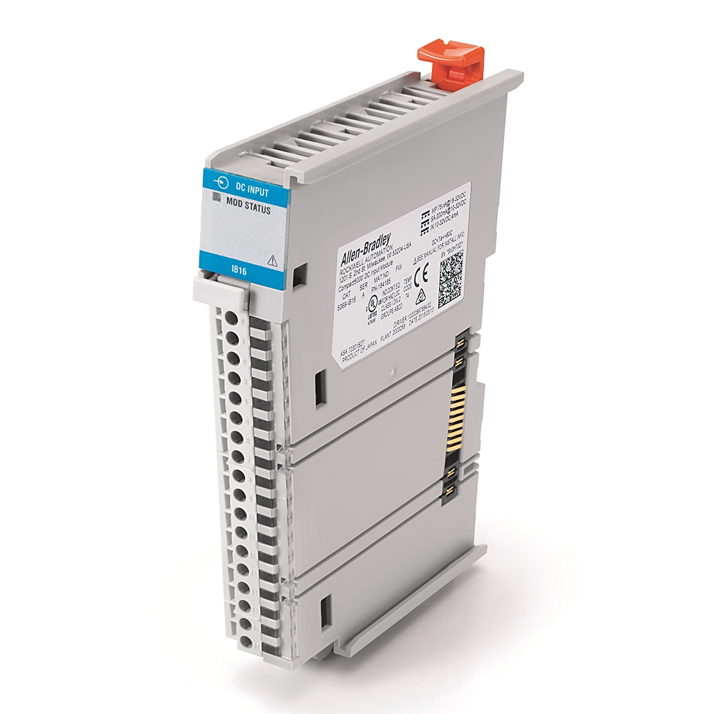 AB 5069-IB16 Compact I/O 16 Channel24VDC Sink Input Module