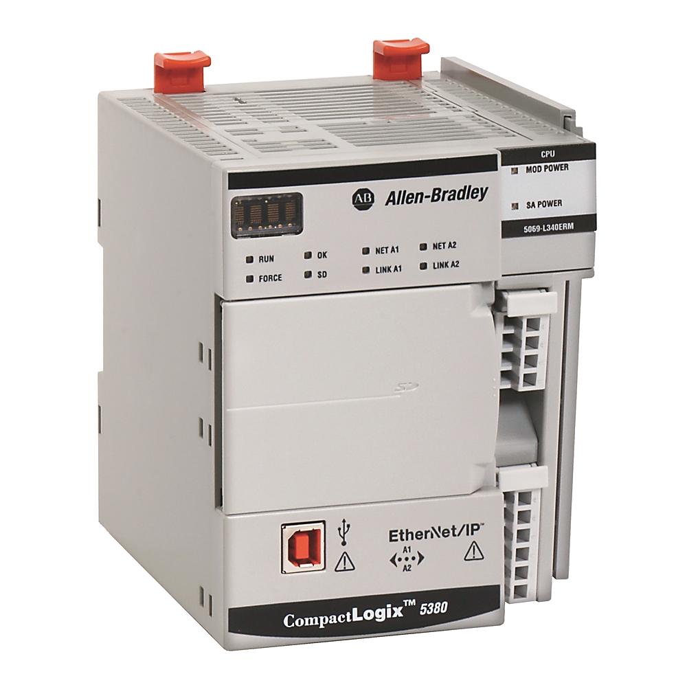 5069-L320ER AB COMPACTLOGIX 5380 CONTROLLER, 2MB, 16 I/OS, 40 NODES, STANDARD