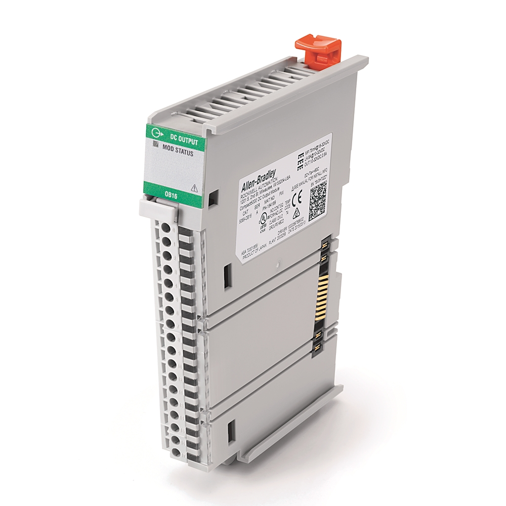 AB 5069-OB16 Compact I/O 16 Channel24VDC Source Output Module