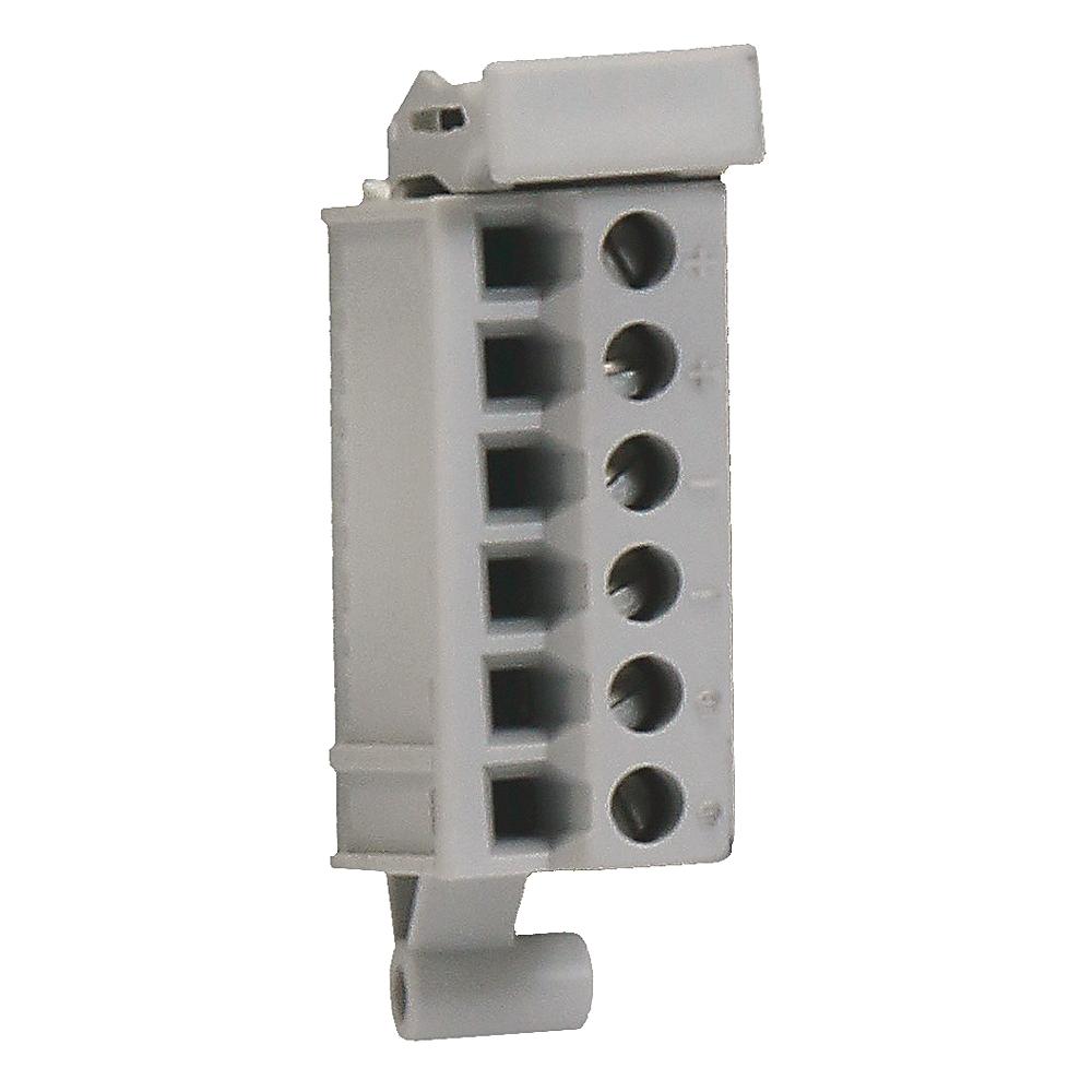 5069-RTB6-SPRING 6 pin Spring type RTB packed