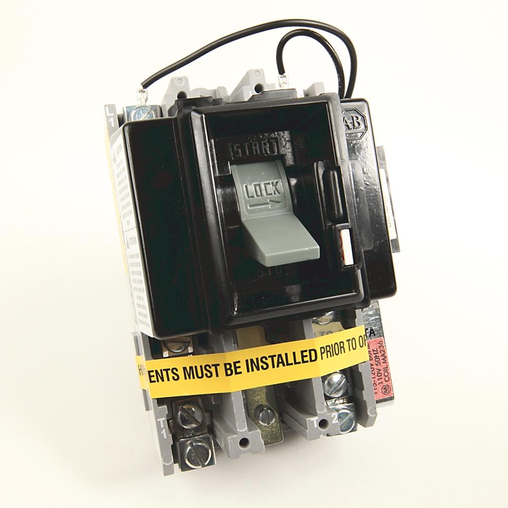 A-B 609TU-AOXD NEMA Size 0 Manual Motor Starter