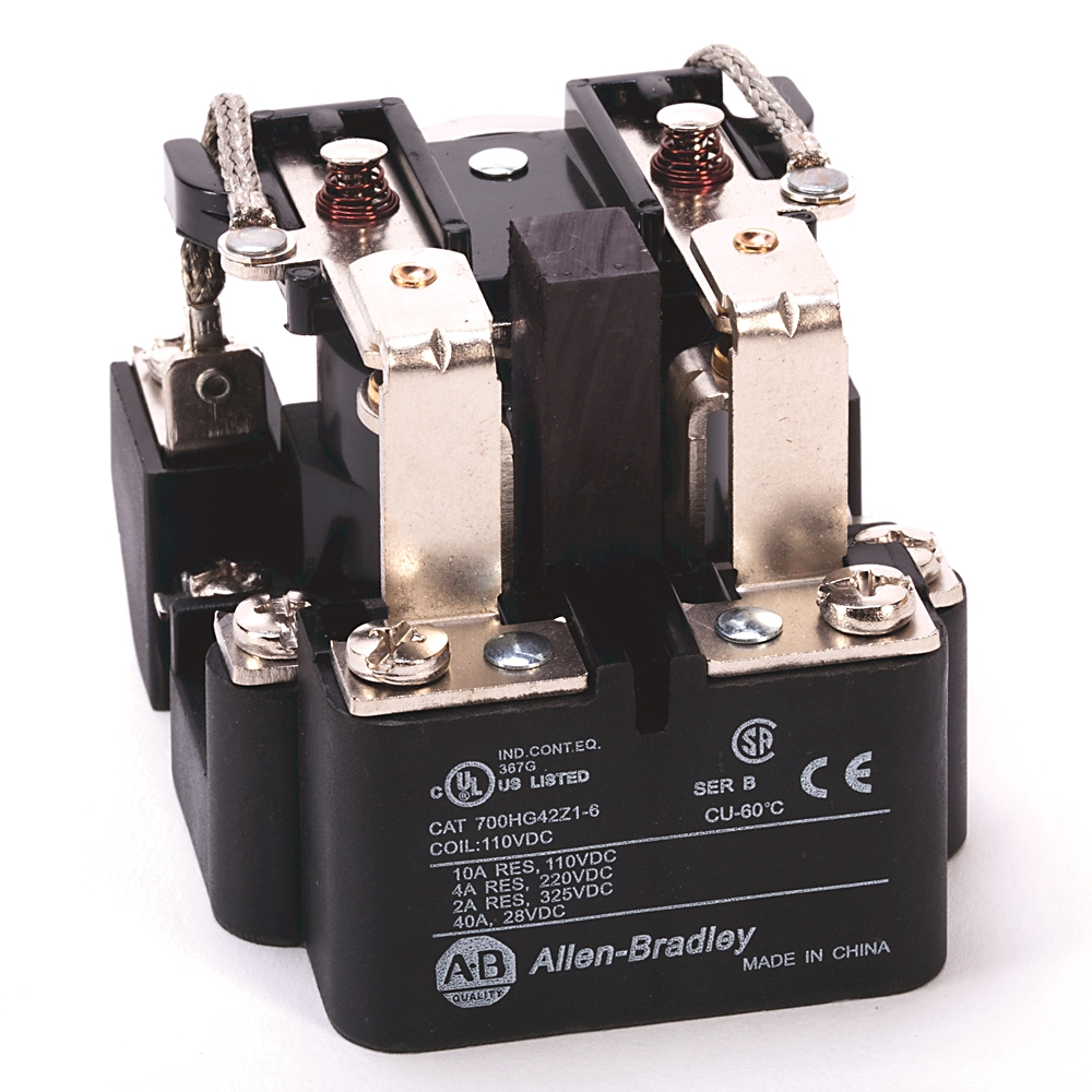 A-B 700-HG46A1-6 open style power relay